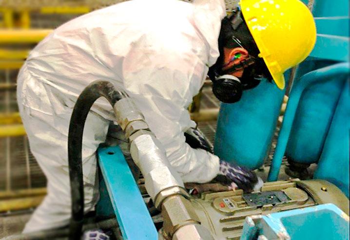 Mantenimiento de Sistema de lubricación de frenos