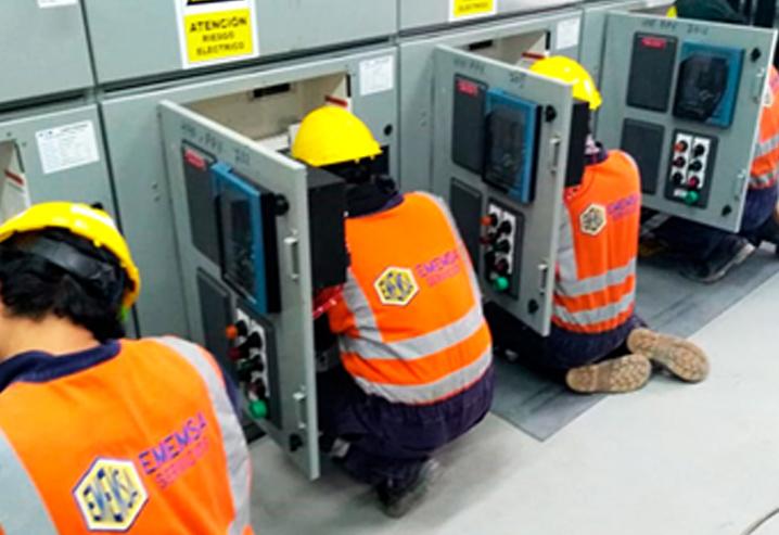Mantenimiento de arrancadores de vacío de media tensión 4.16 KV