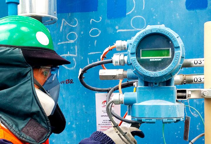 Mantenimiento de sensores de presión, flujo y pruebas de señales